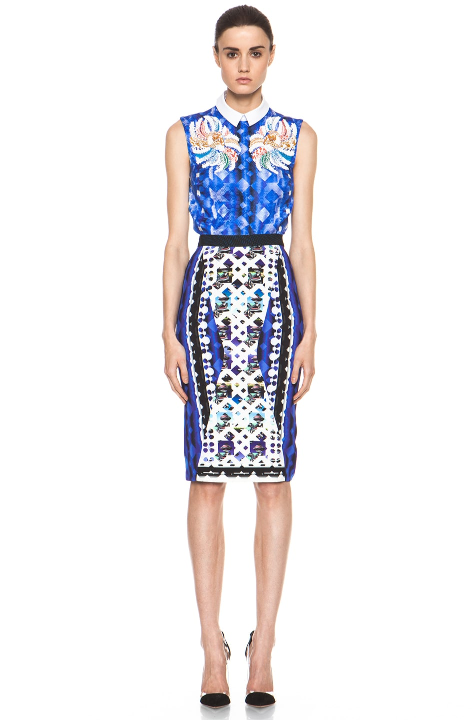 Image 6 of Peter Pilotto Blouse in Blue Multi