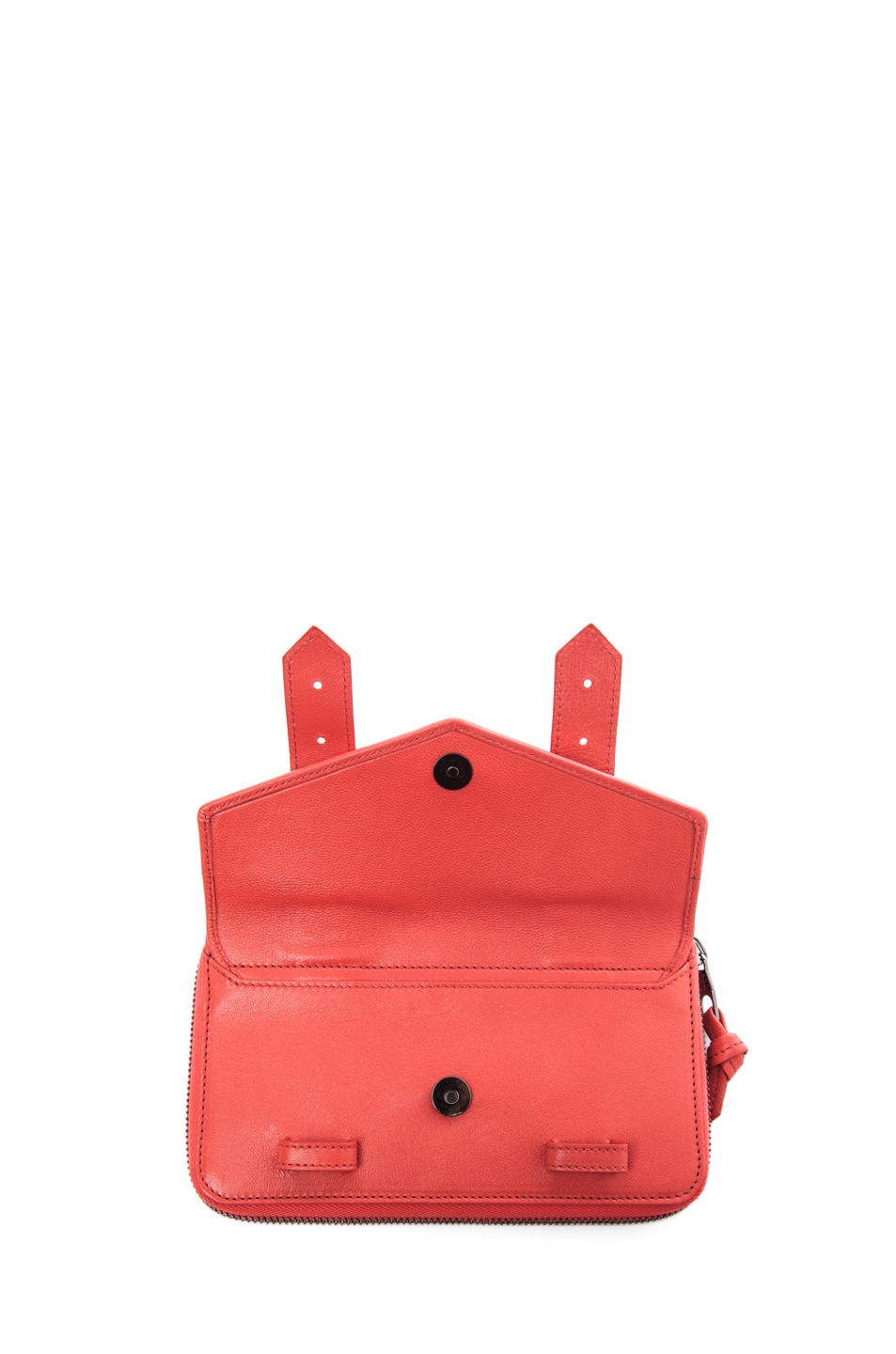 Image 5 of Proenza Schouler PS1 Large Zip Wallet in Deep Coral