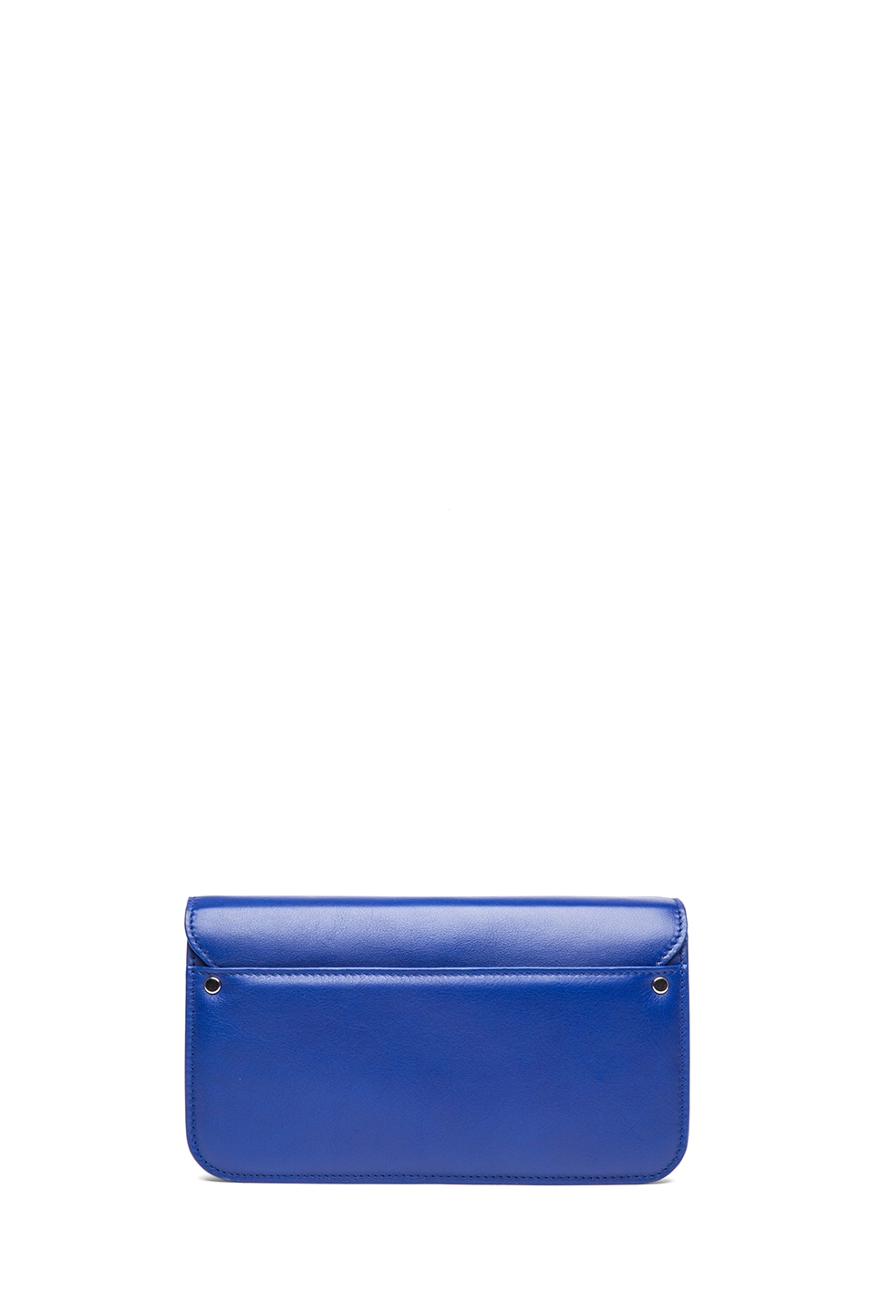 Image 2 of Proenza Schouler PS11 Smooth Calf Leather Chain Wallet in Royal Blue
