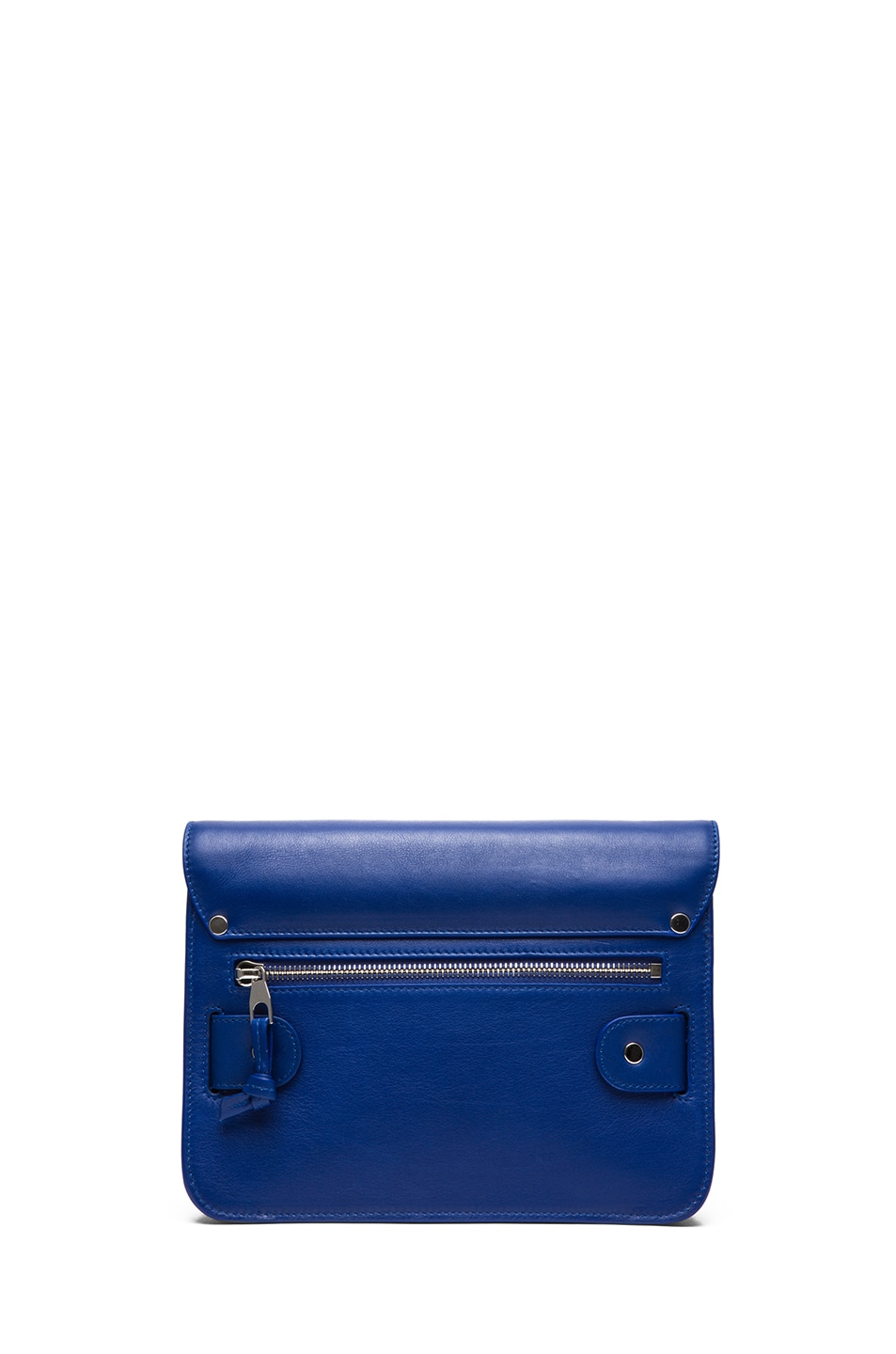 Image 2 of Proenza Schouler Mini PS11 Classic Smooth Leather Shoulder Bag in Royal Blue