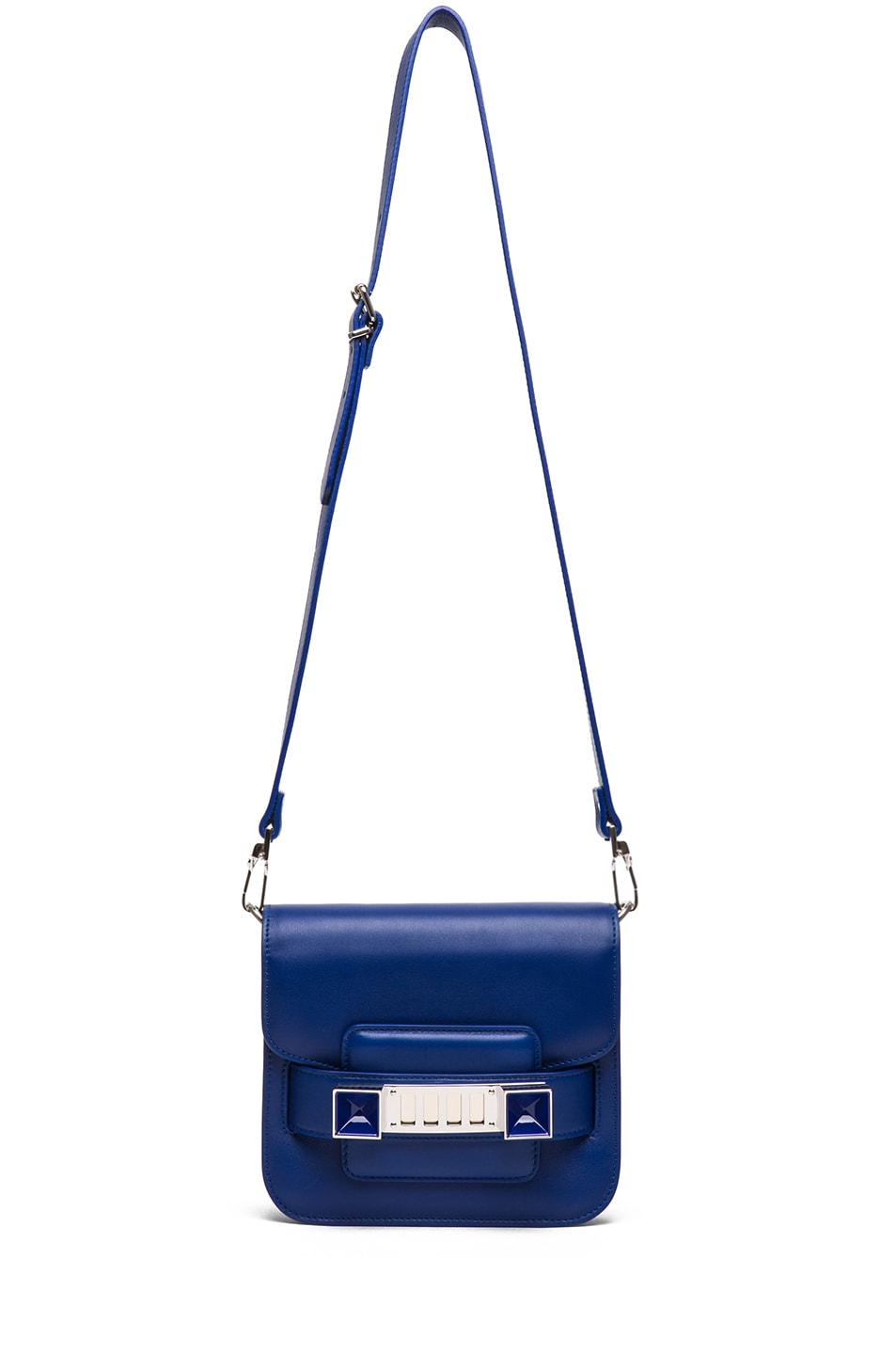 Image 5 of Proenza Schouler Tiny PS11 Smooth Leather Shoulder Bag in Royal Blue
