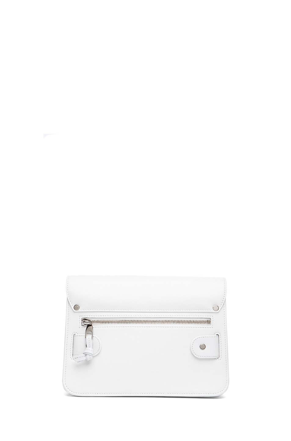 Image 2 of Proenza Schouler Mini PS11 Classic Smooth Leather Shoulder Bag in White