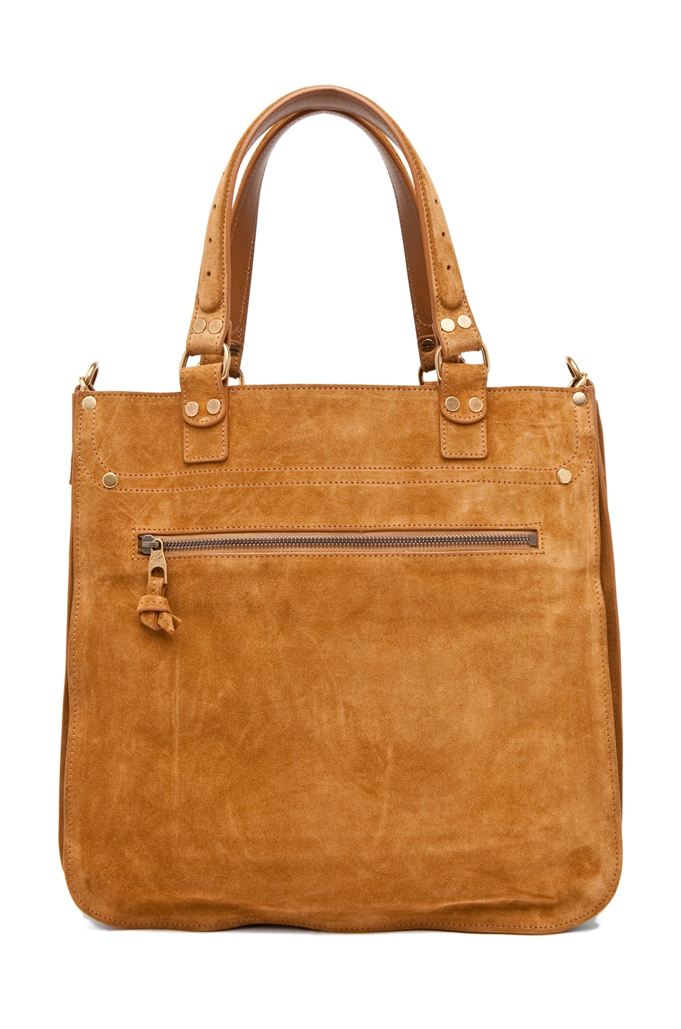 Image 2 of Proenza Schouler PS1 Tote Suede  in Tobacco