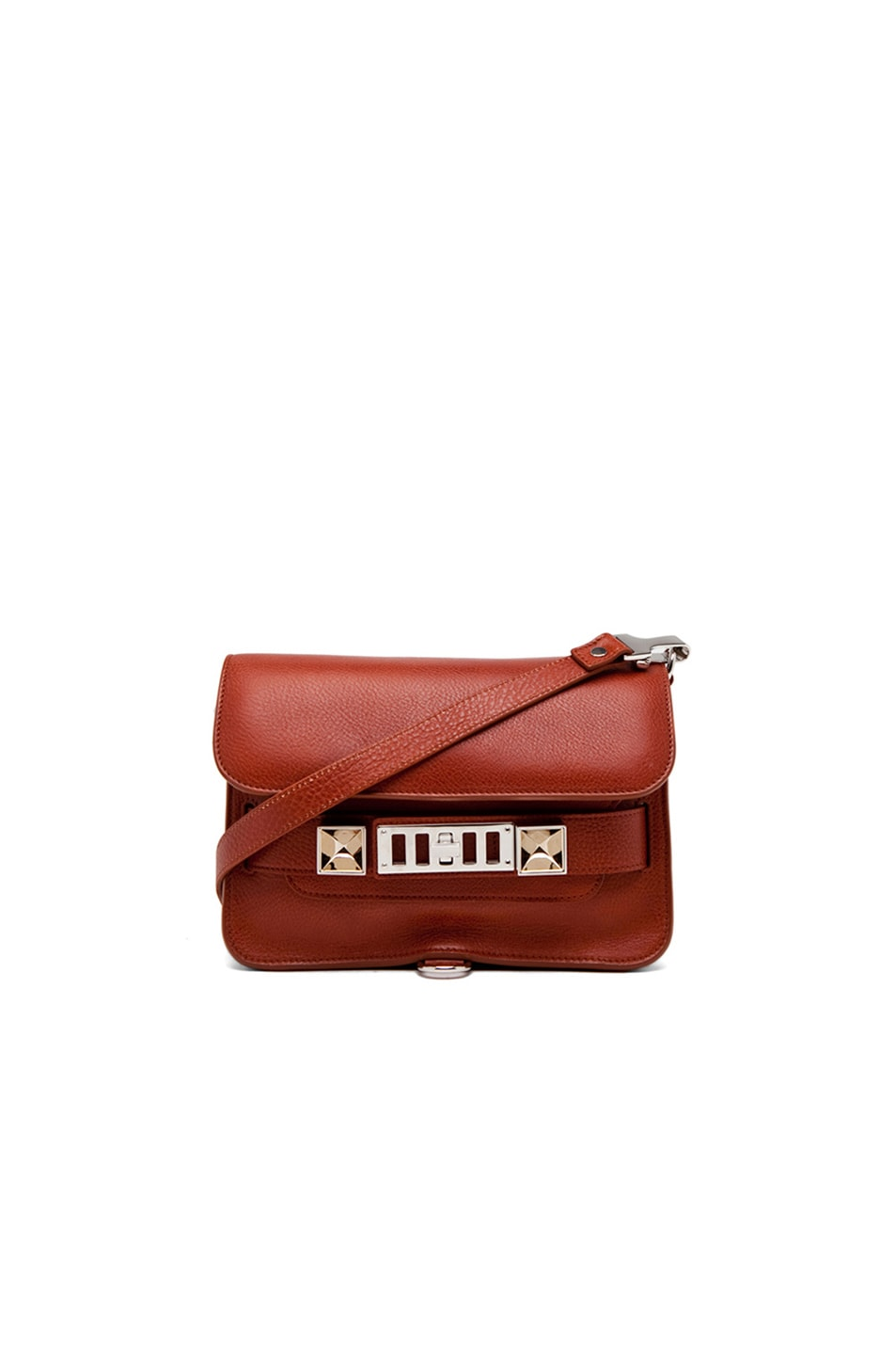 Image 1 of Proenza Schouler Mini PS11 Classic Bag in Saddle