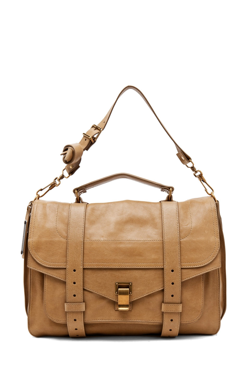 Image 5 of Proenza Schouler Large PS1 Leather in Bronze