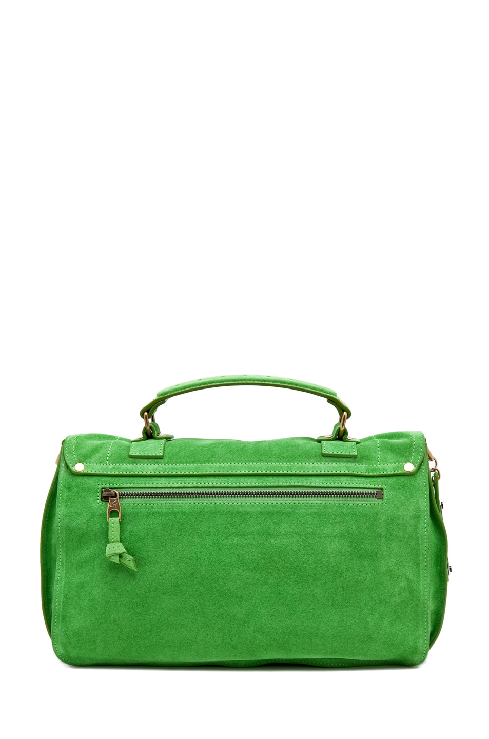 Image 2 of Proenza Schouler PS1 Medium Suede in Tropical Green