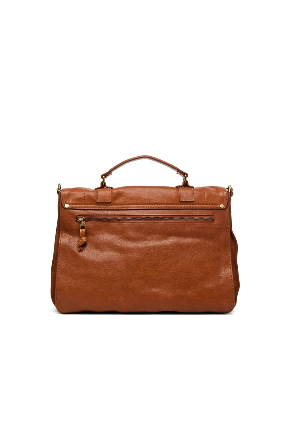 Image 3 of Proenza Schouler Large PS1 Leather in Saddle