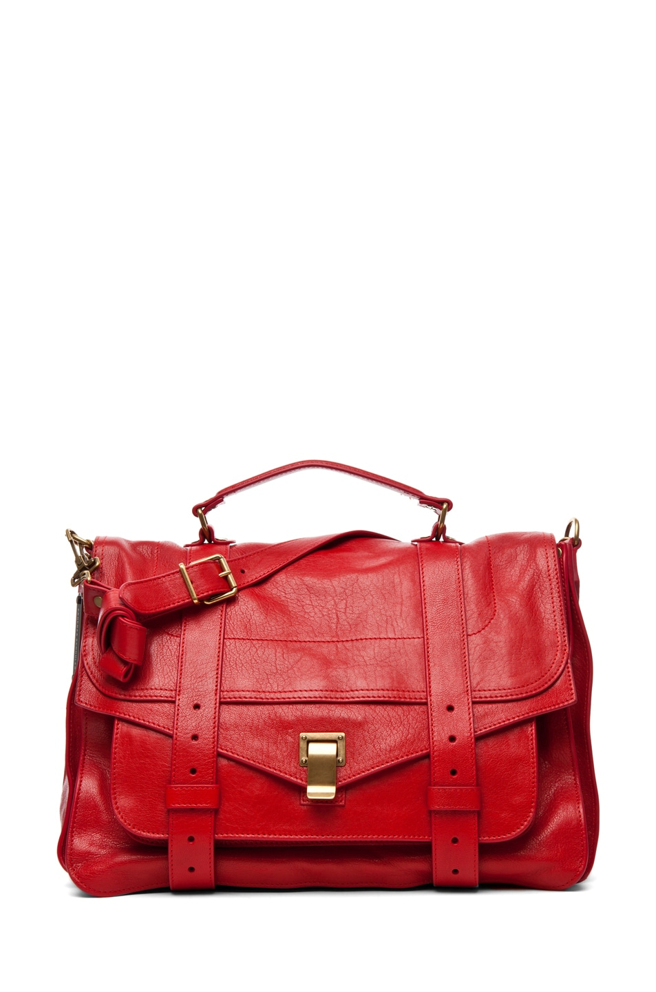 Image 1 of Proenza Schouler PS1 Large Leather in Lipstick