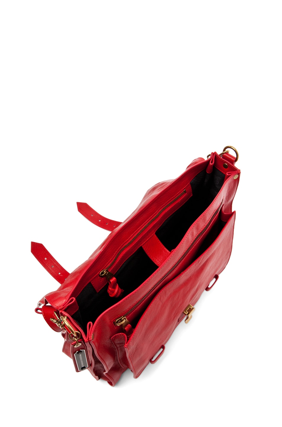 Image 4 of Proenza Schouler PS1 Large Leather in Lipstick