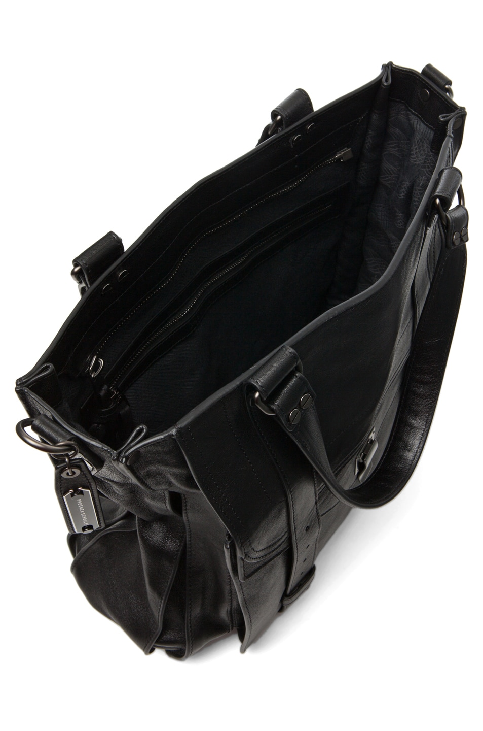 Image 4 of Proenza Schouler PS1 Large Tote Leather in Black