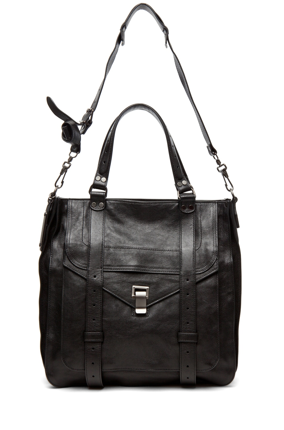 Image 5 of Proenza Schouler PS1 Large Tote Leather in Black