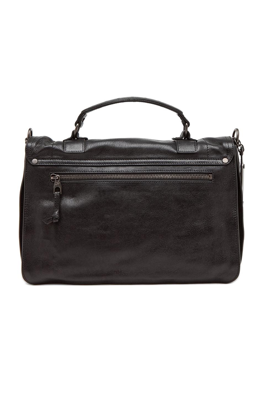 Image 3 of Proenza Schouler Medium PS1 Leather in Black