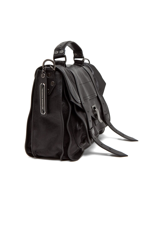 Image 4 of Proenza Schouler Medium PS1 Leather in Black