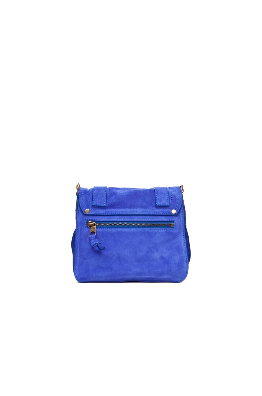 Image 2 of Proenza Schouler PS1 Pouch Suede in Cobalt
