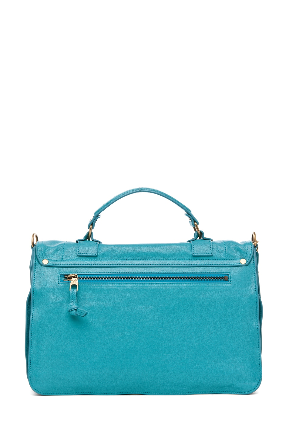 Image 2 of Proenza Schouler PS1 Medium Leather in Lagoon