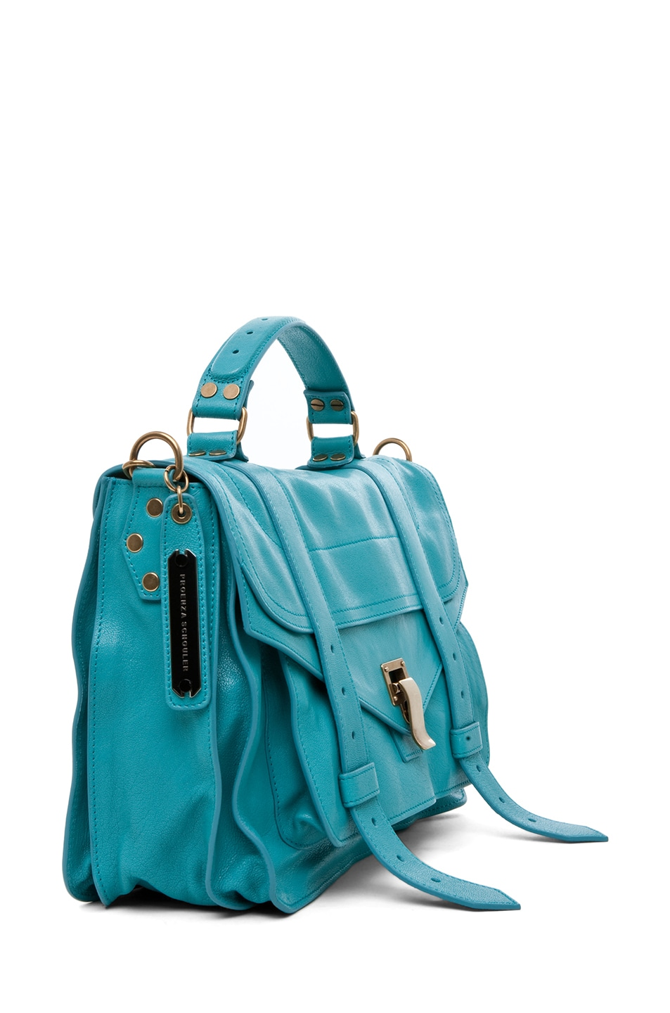 Image 3 of Proenza Schouler PS1 Medium Leather in Lagoon