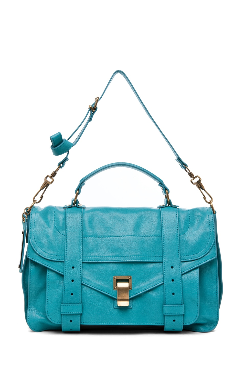 Image 5 of Proenza Schouler PS1 Medium Leather in Lagoon