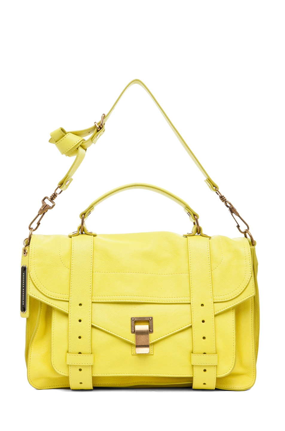 Image 5 of Proenza Schouler PS1 Medium Leather in Sunshine