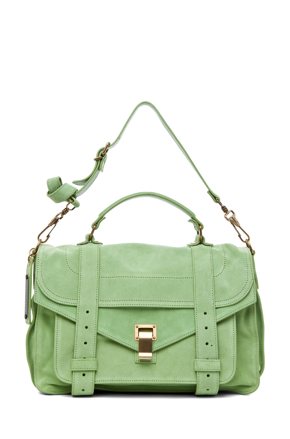 Image 5 of Proenza Schouler PS1 Medium Suede in Jade