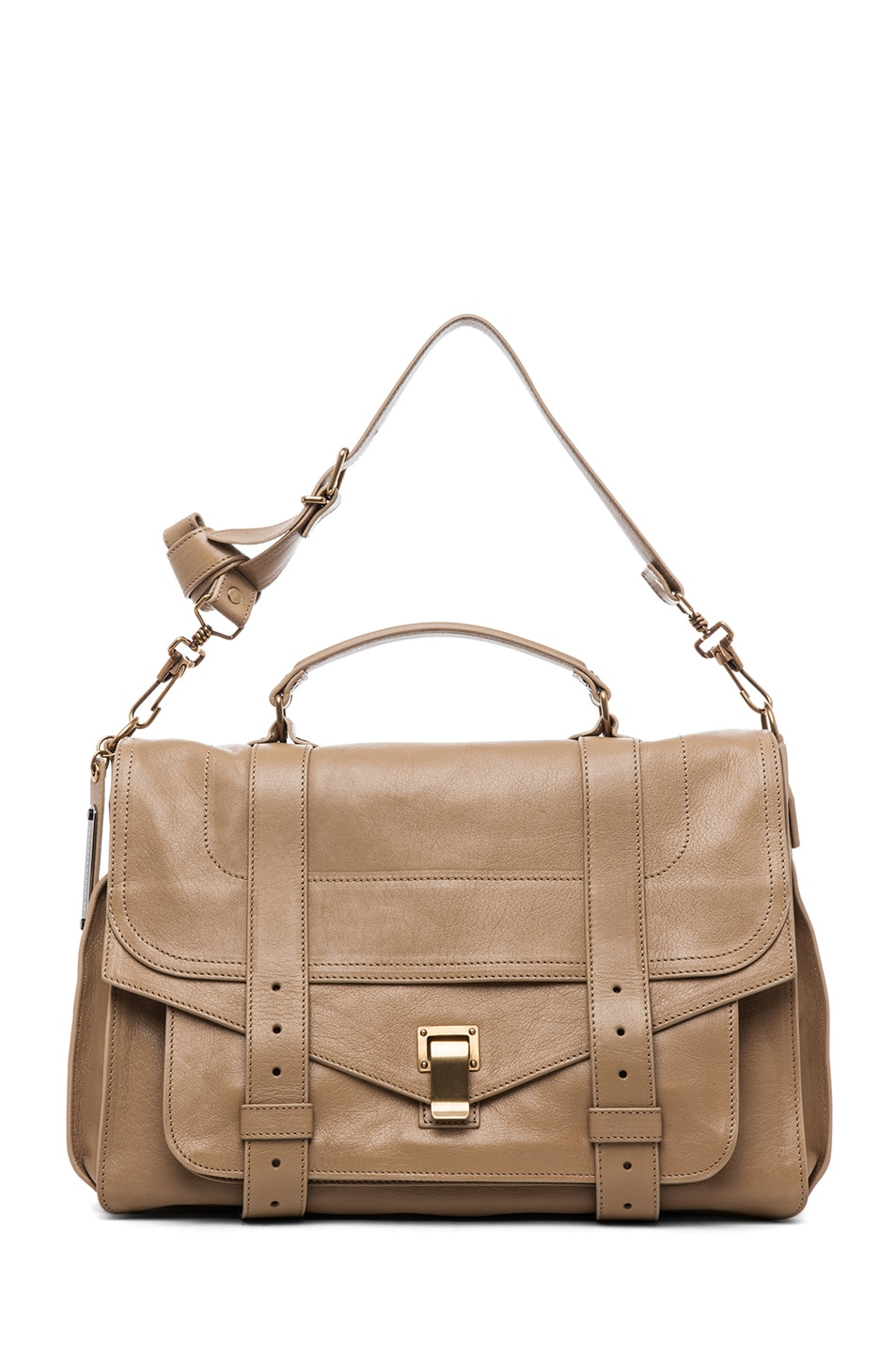 Image 5 of Proenza Schouler PS1 Large Leather in Sahara