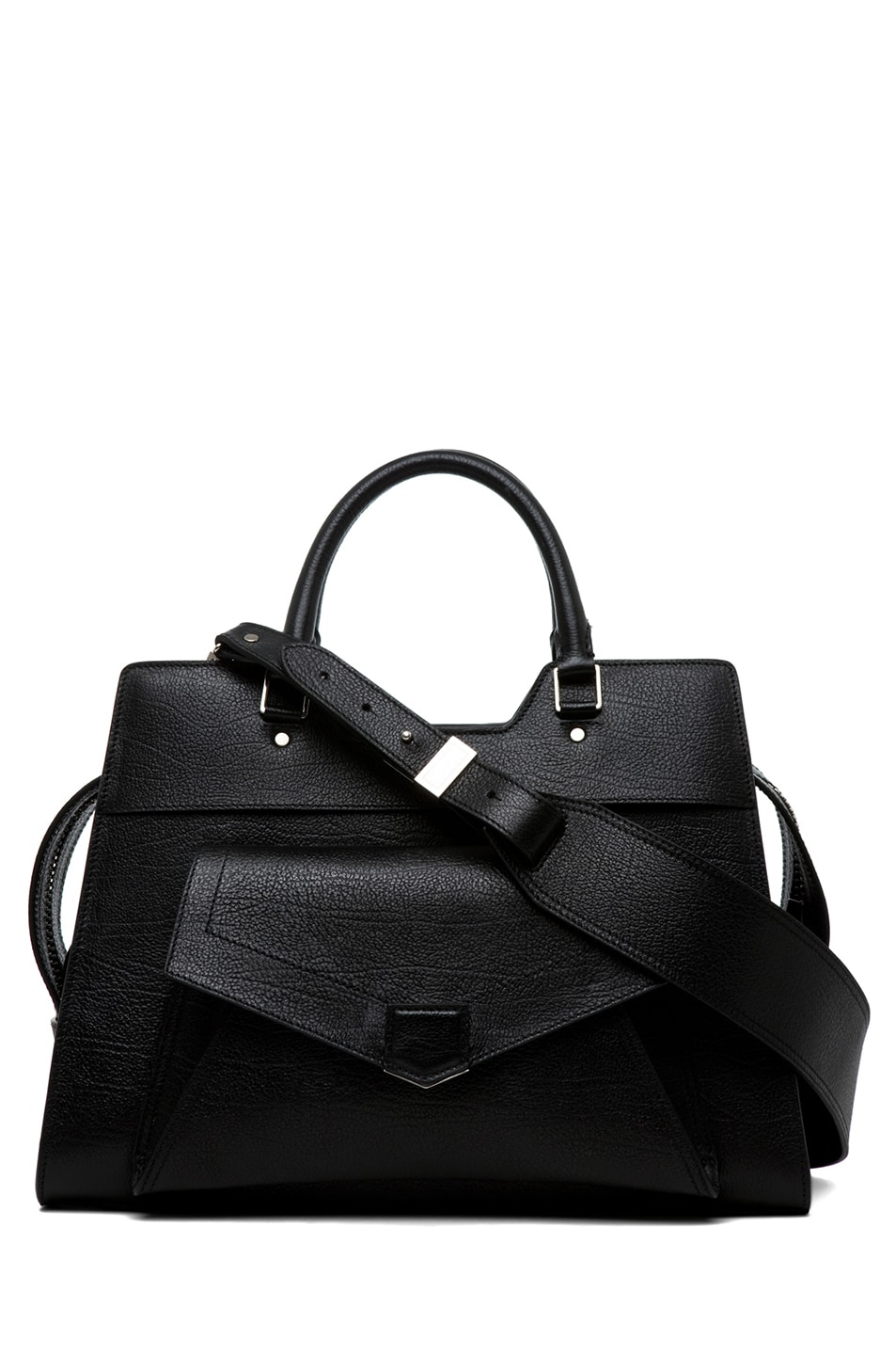 Image 1 of Proenza Schouler PS13 Small Vacchetta in Black