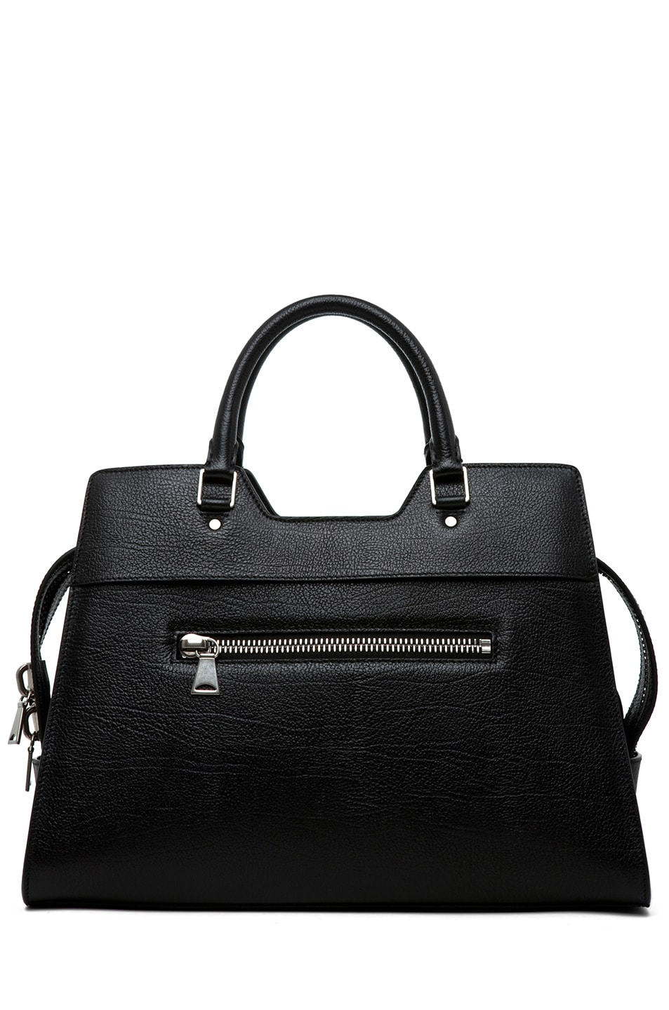 Image 2 of Proenza Schouler PS13 Small Vacchetta in Black