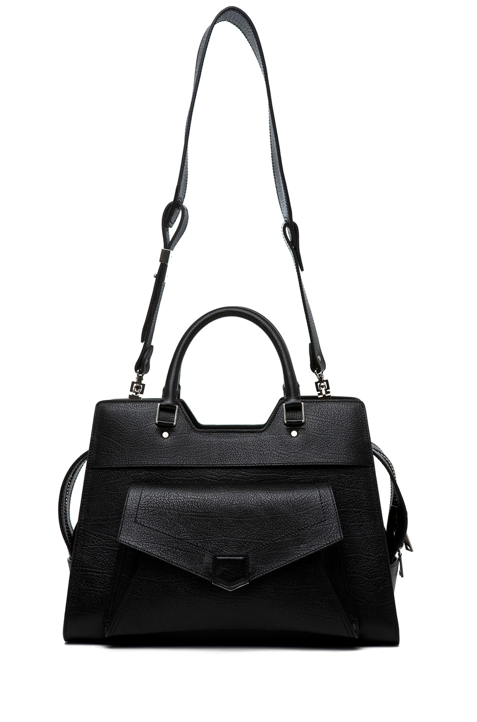 Image 5 of Proenza Schouler PS13 Small Vacchetta in Black