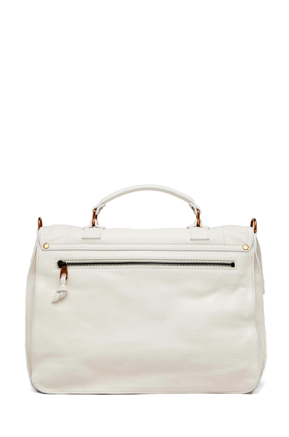 Image 2 of Proenza Schouler PS1 Large Leather in White