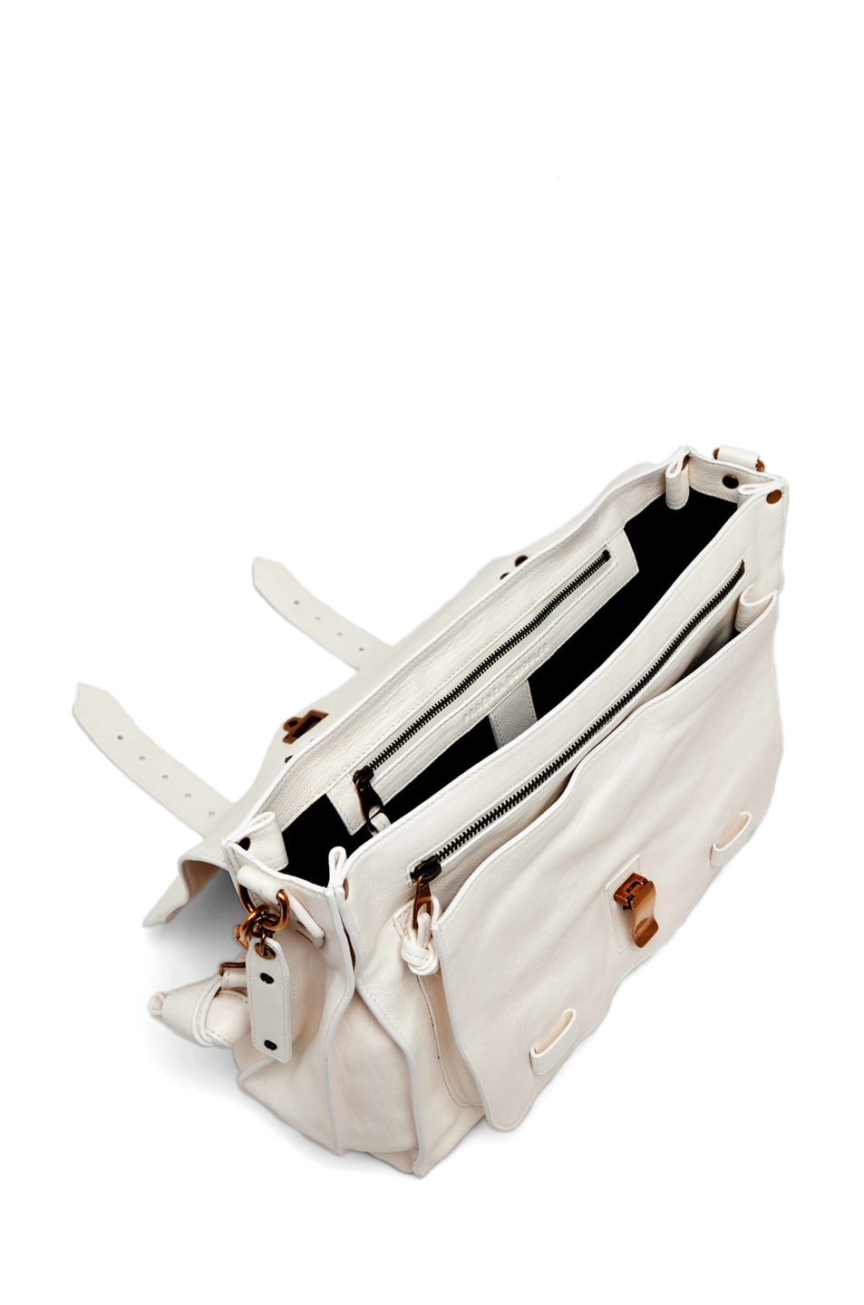 Image 4 of Proenza Schouler PS1 Large Leather in White