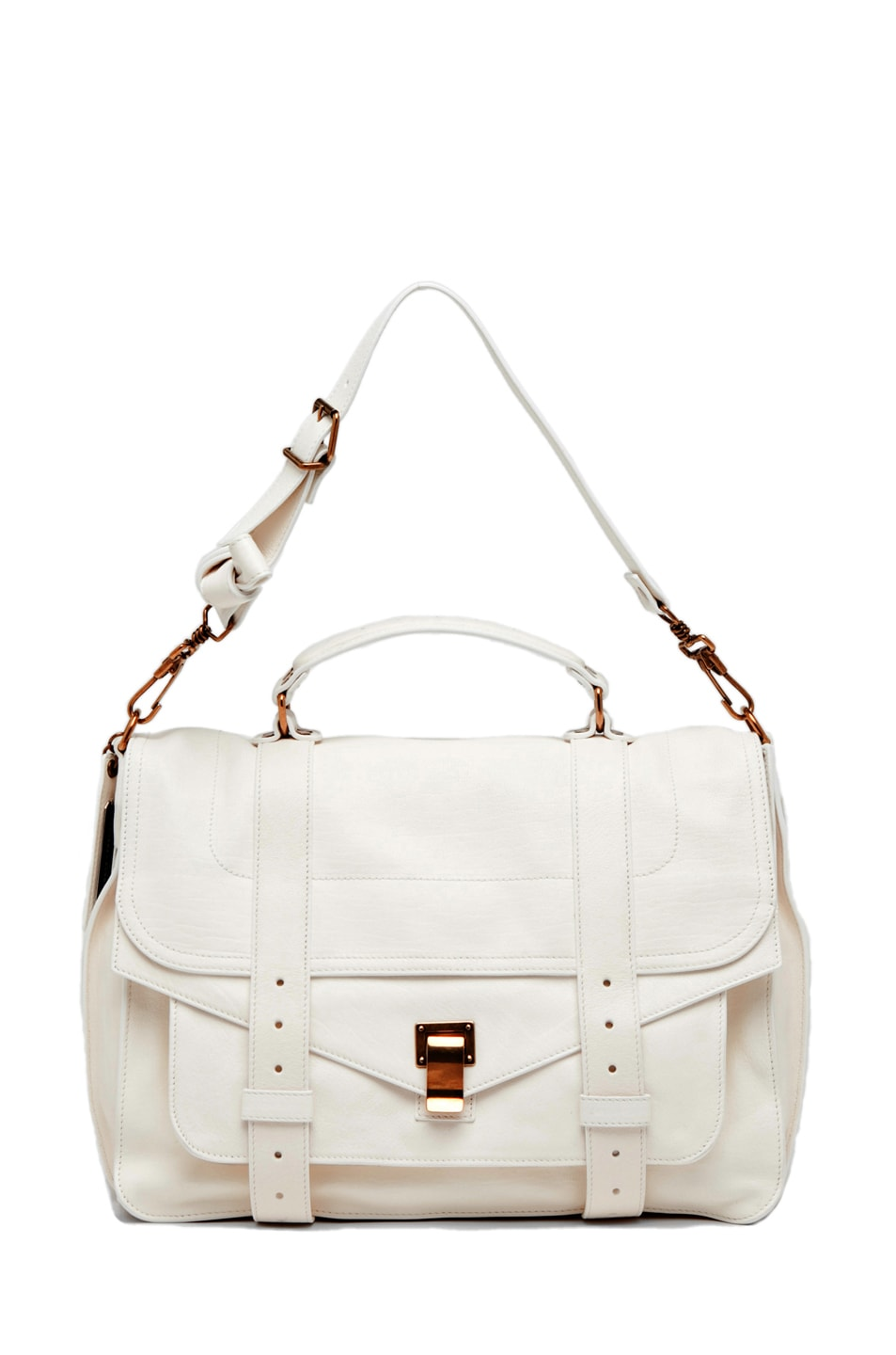 Image 5 of Proenza Schouler PS1 Large Leather in White