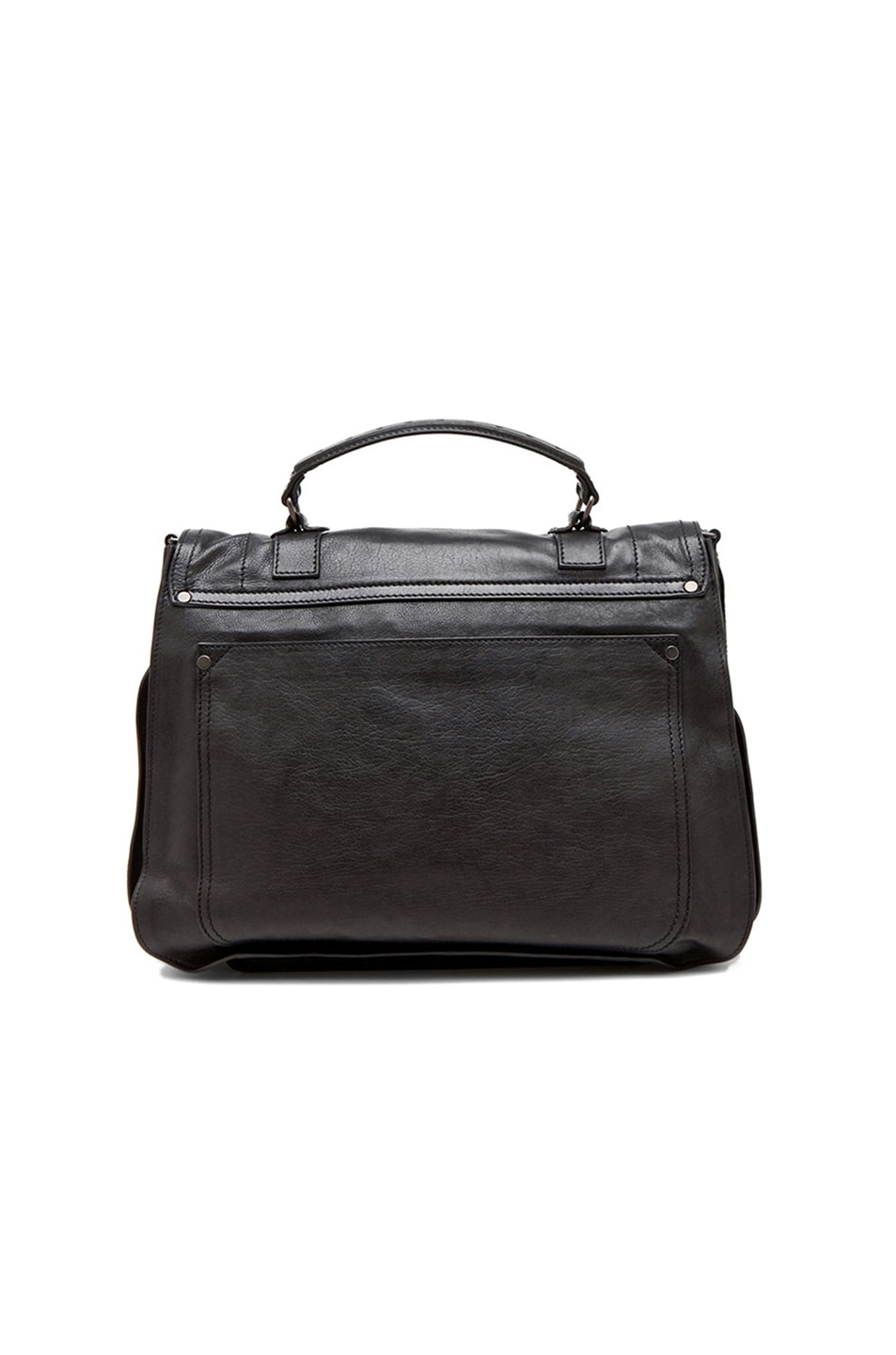 Image 2 of Proenza Schouler X-Large PS1 Leather in Black