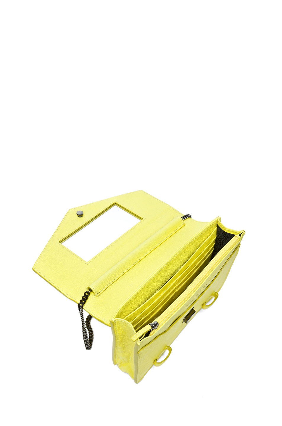 Image 4 of Proenza Schouler PS1 Large Chain Wallet in Sunshine