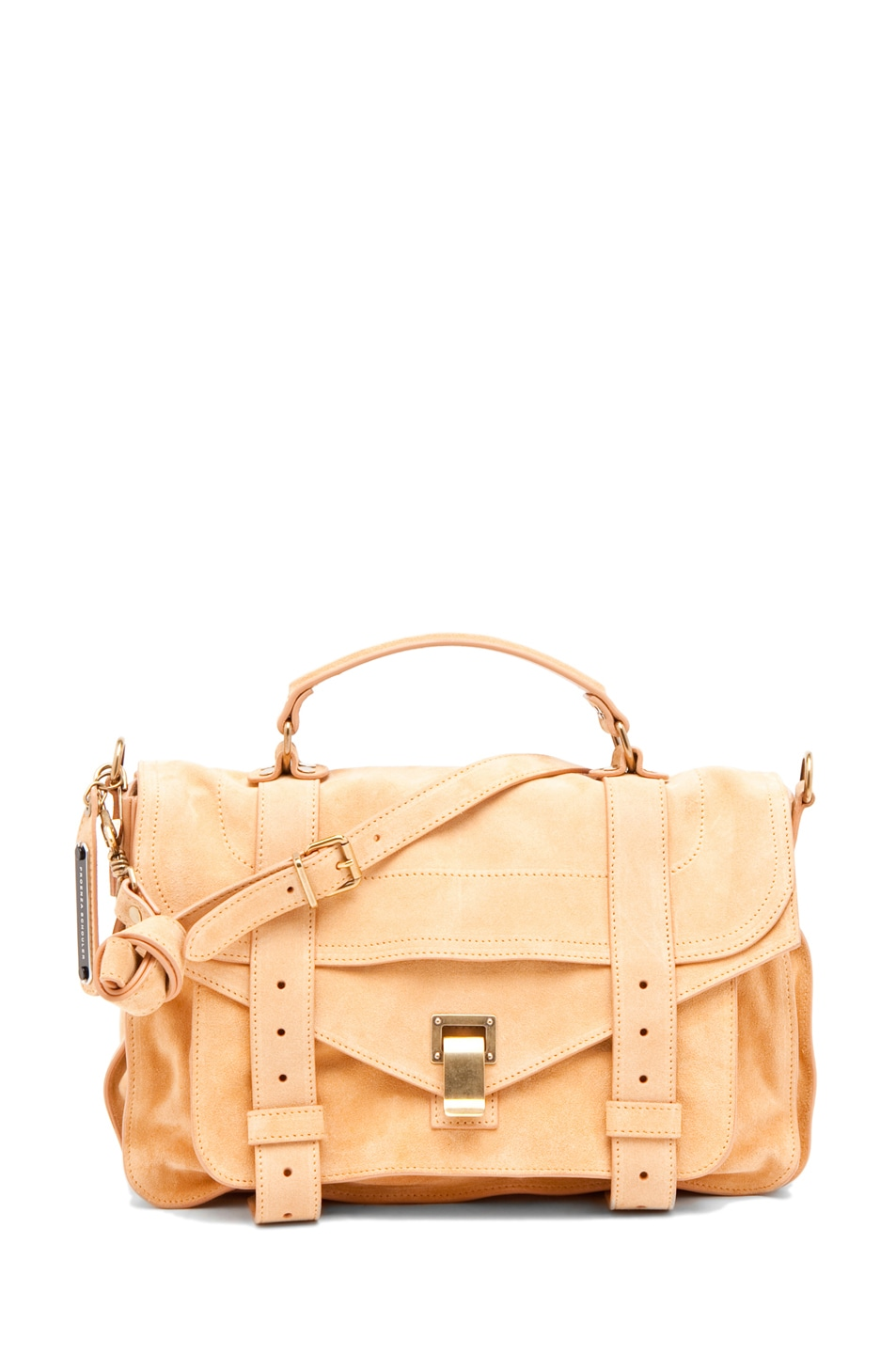 Image 1 of Proenza Schouler PS1 Medium Suede  in Melon