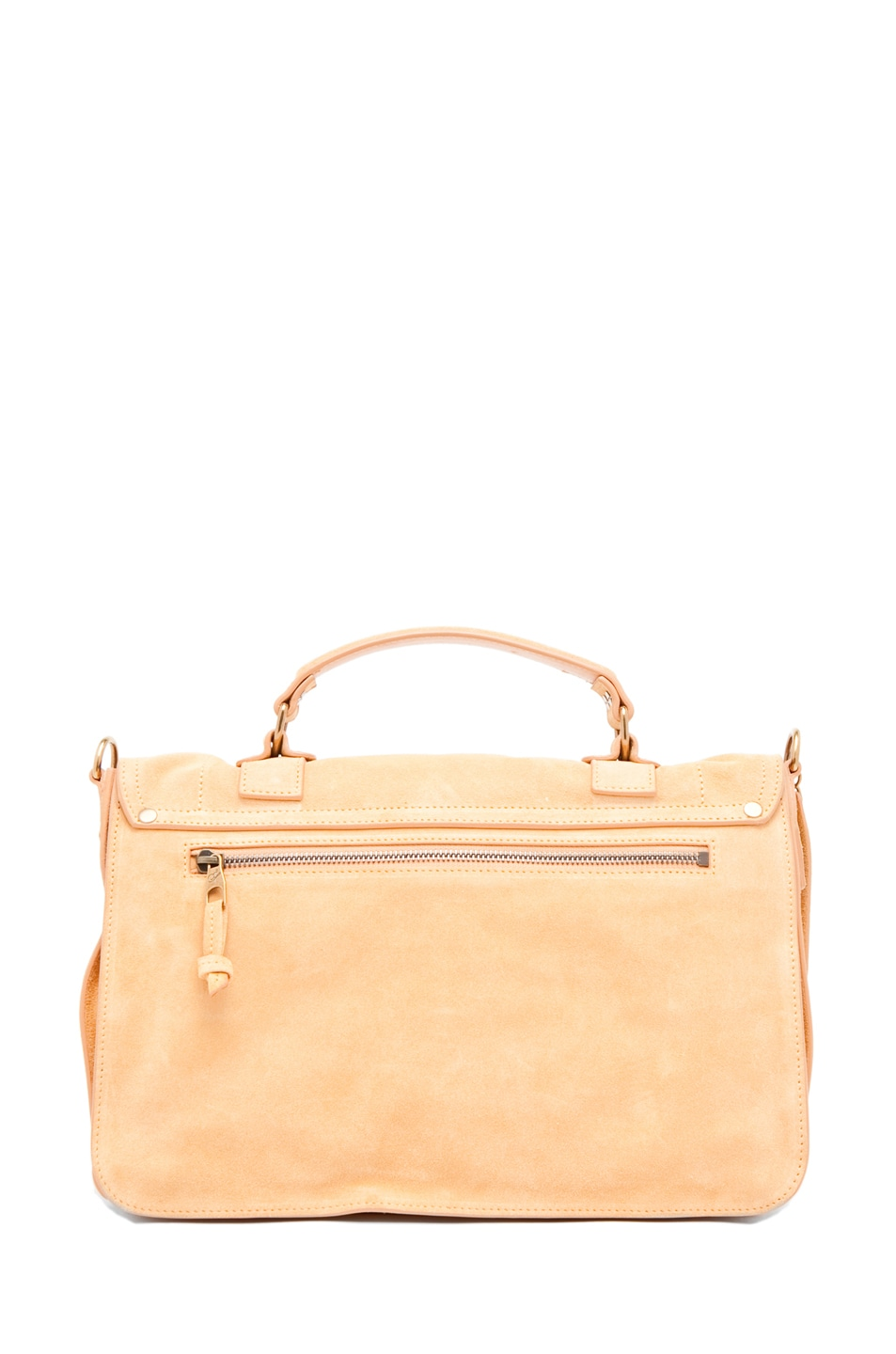 Image 2 of Proenza Schouler PS1 Medium Suede  in Melon