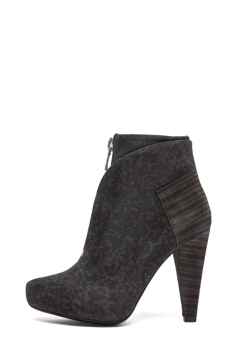Image 1 of Proenza Schouler Suede Ankle Boots in Grey