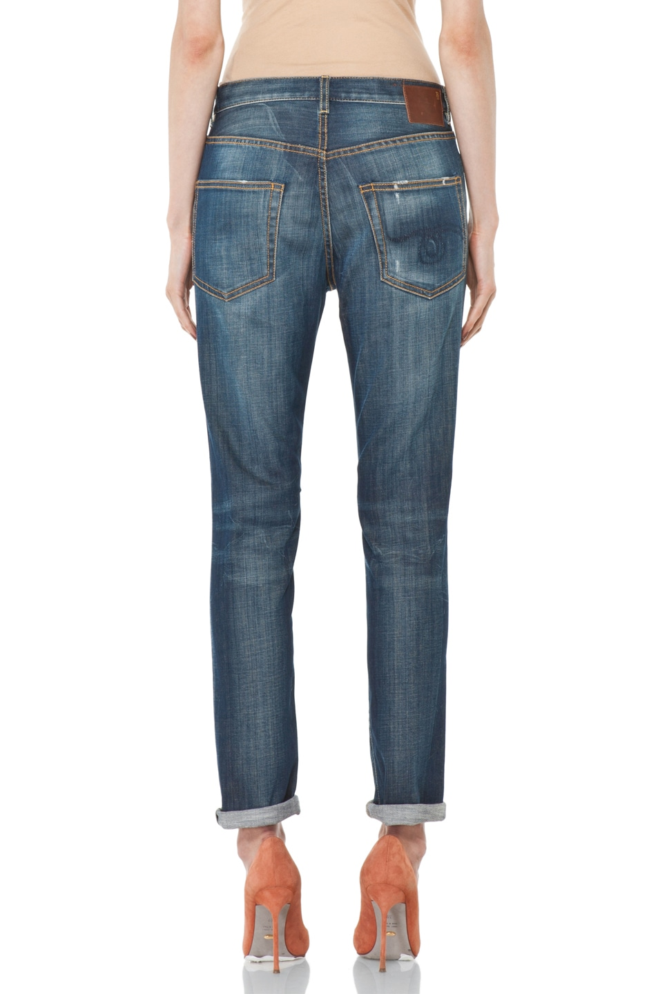 Image 4 of R13 Slouchy Skinny Jean in Blue