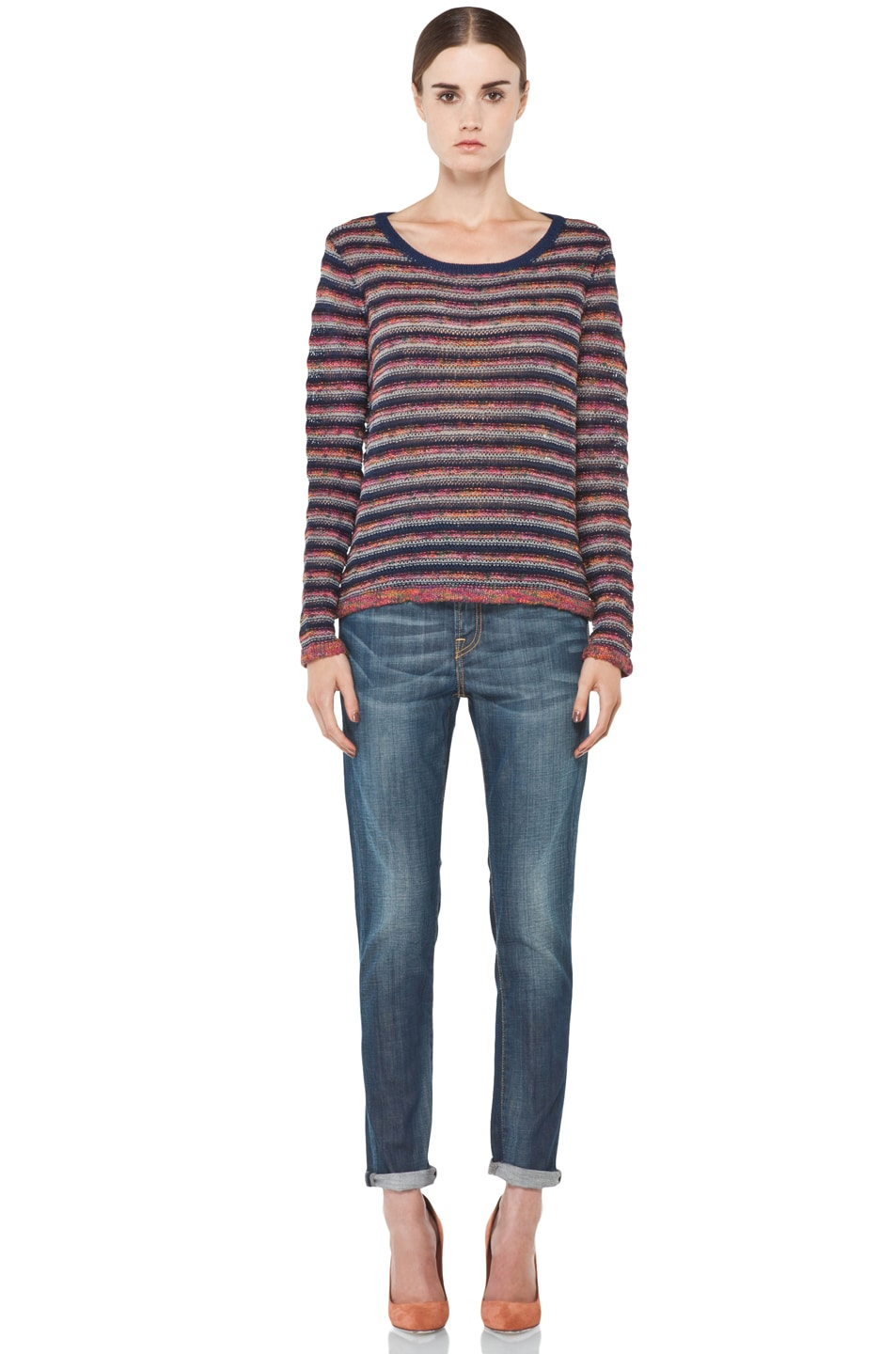 Image 5 of R13 Slouchy Skinny Jean in Blue