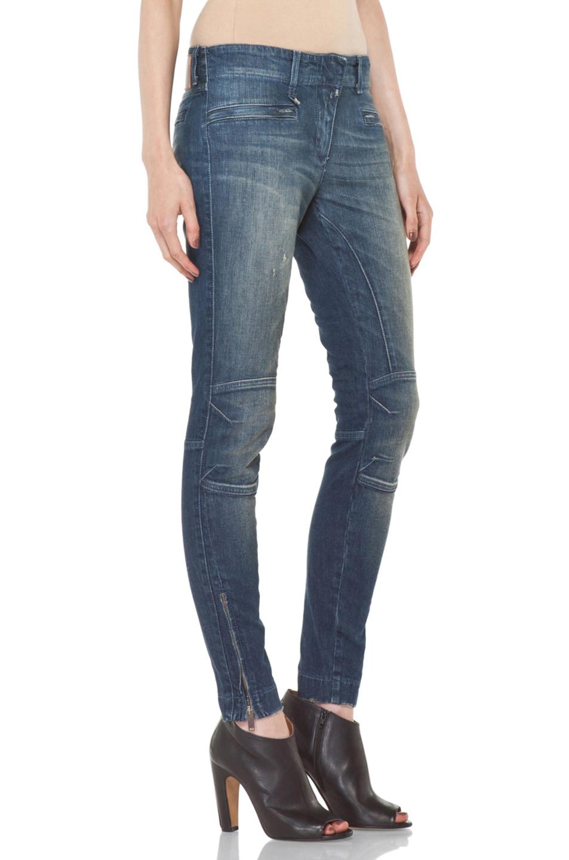 Image 3 of R13 Moto Jean in Medium Blue
