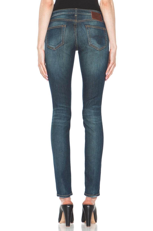 Image 4 of R13 Skinny Jean in Dirty Blue