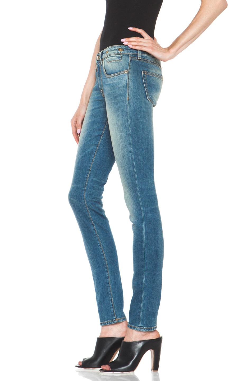 Image 2 of R13 Skinny Jean in Light Medium
