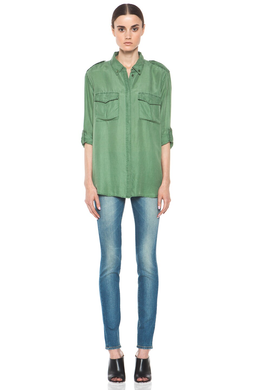 Image 5 of R13 Skinny Jean in Light Medium