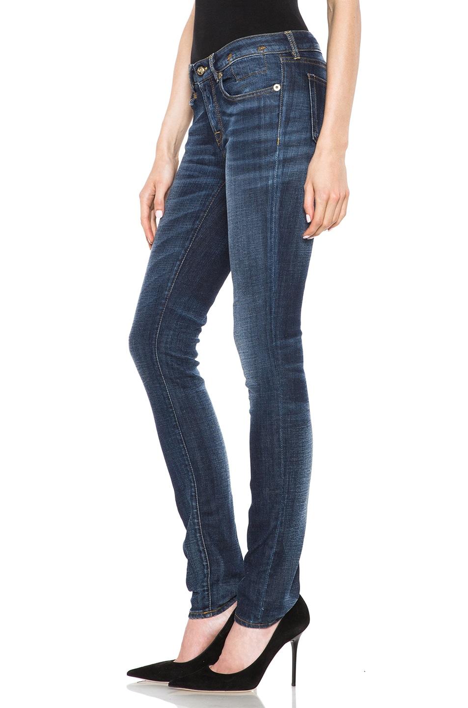 Image 2 of R13 Skinny Jean in Clean Medium