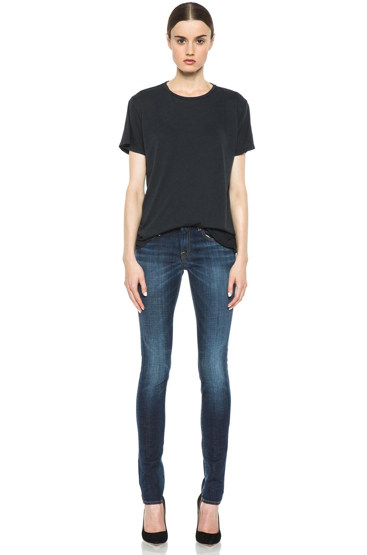 Image 5 of R13 Skinny Jean in Clean Medium
