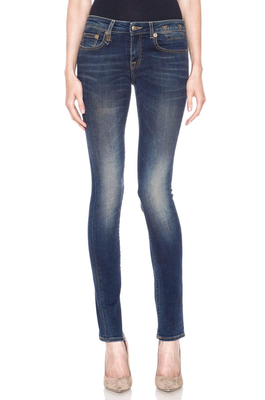 Image 1 of R13 Skinny Jean in Dark Worn