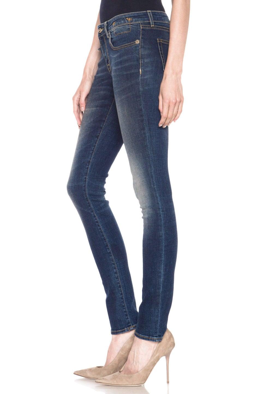 Image 2 of R13 Skinny Jean in Dark Worn