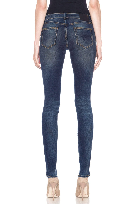 Image 4 of R13 Skinny Jean in Dark Worn