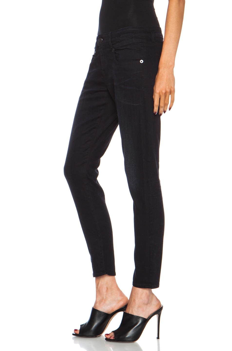 Image 2 of R13 Boy Skinny Jean in Black