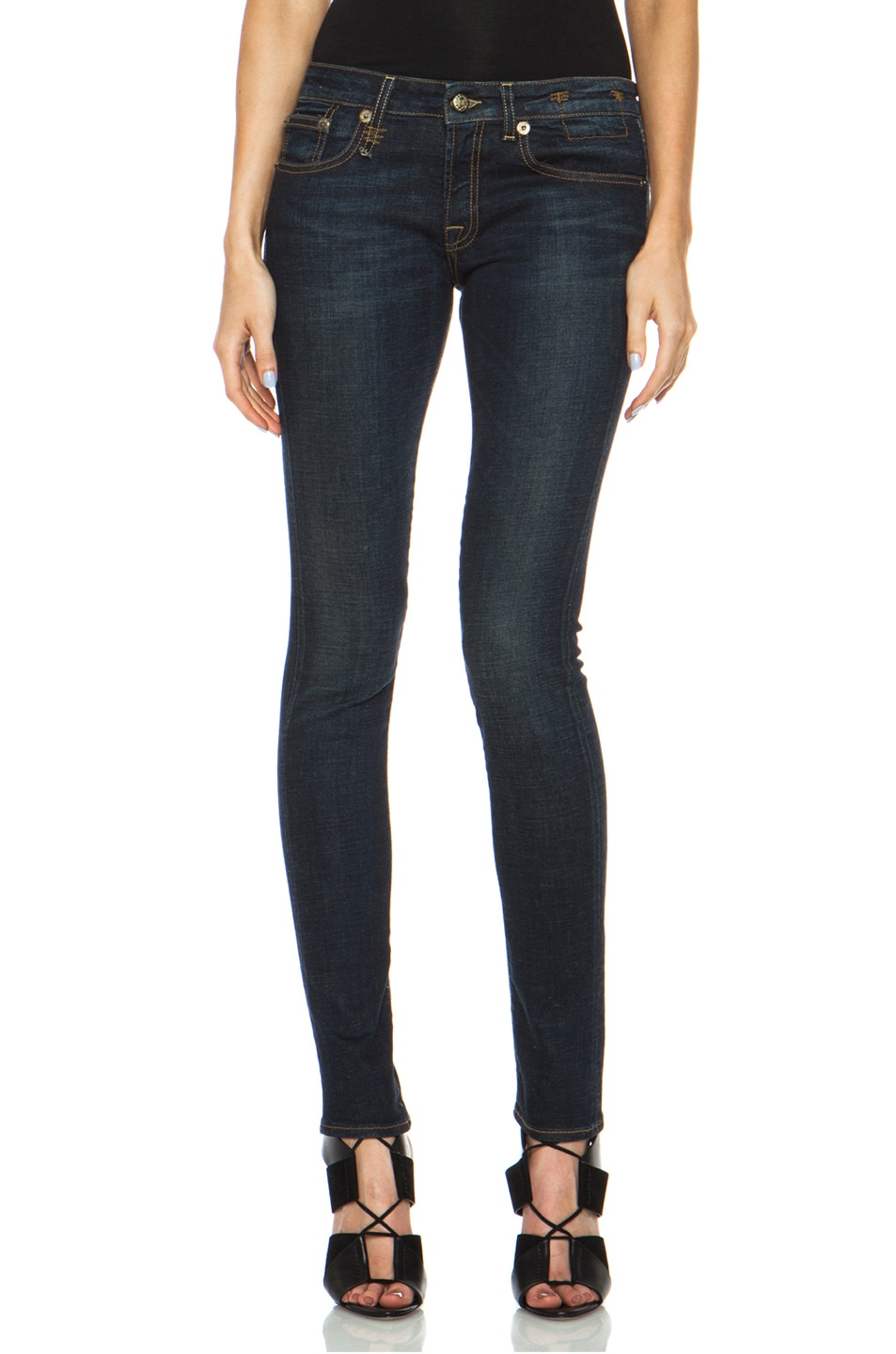 Image 1 of R13 Skinny Jean in Dark Indigo
