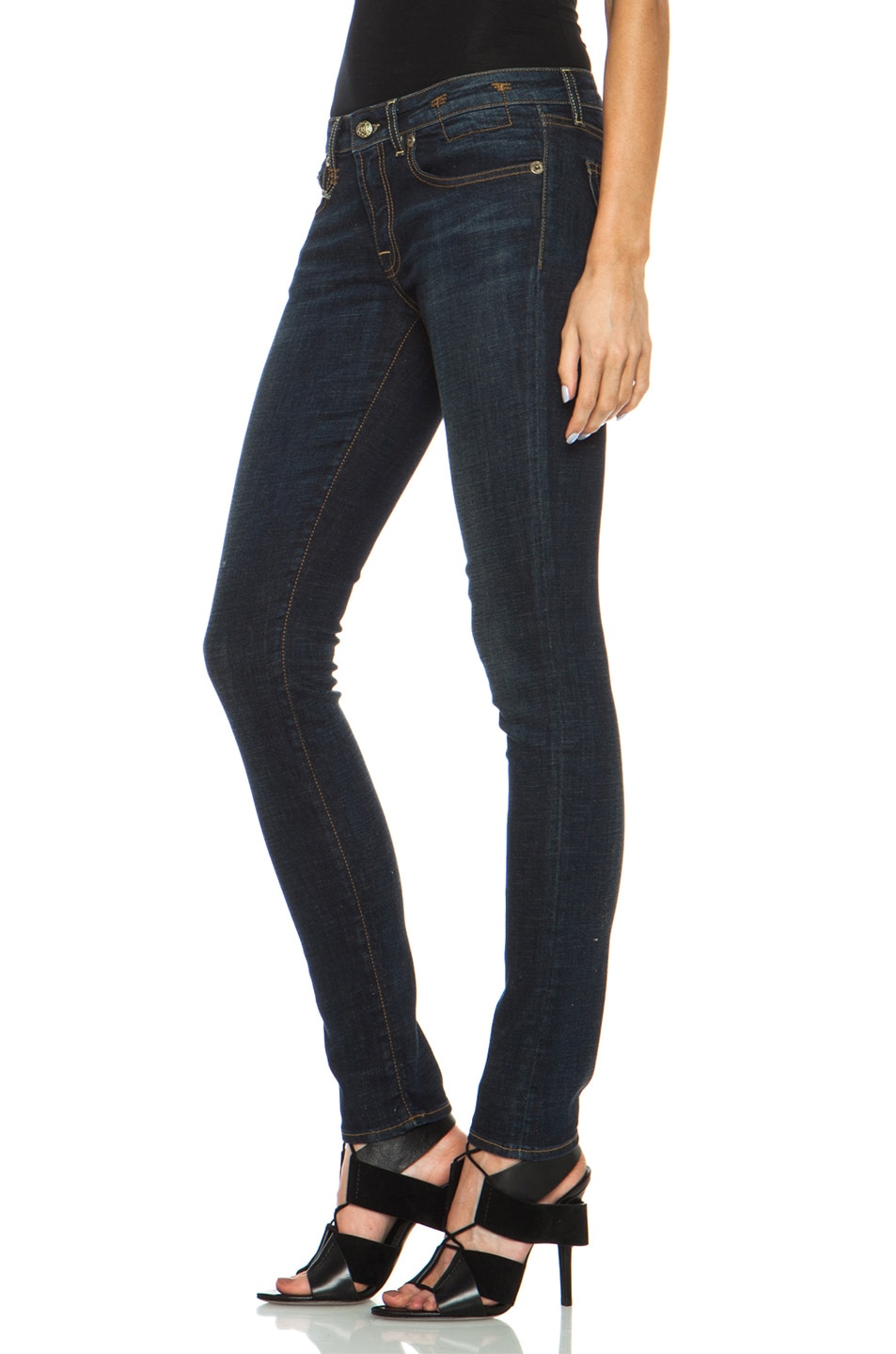 Image 2 of R13 Skinny Jean in Dark Indigo
