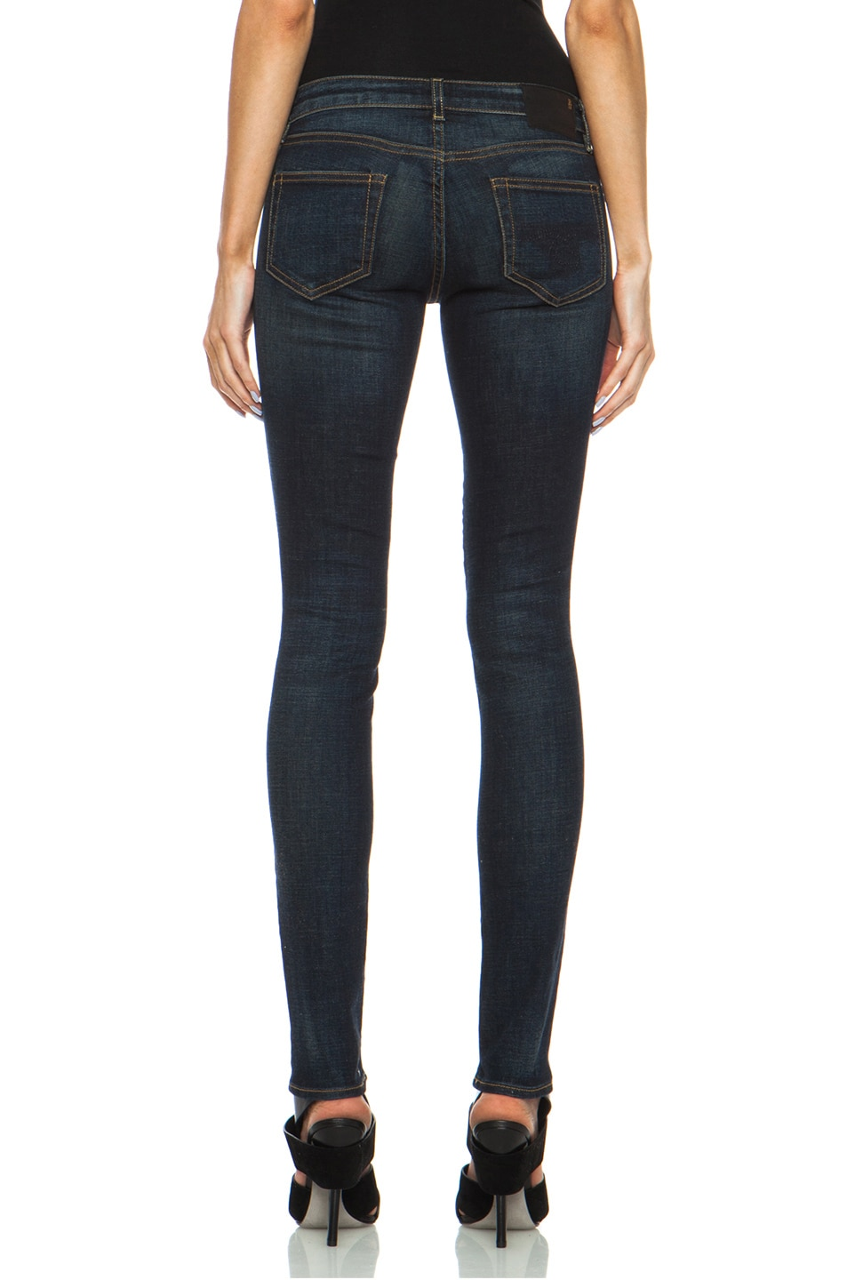 Image 4 of R13 Skinny Jean in Dark Indigo